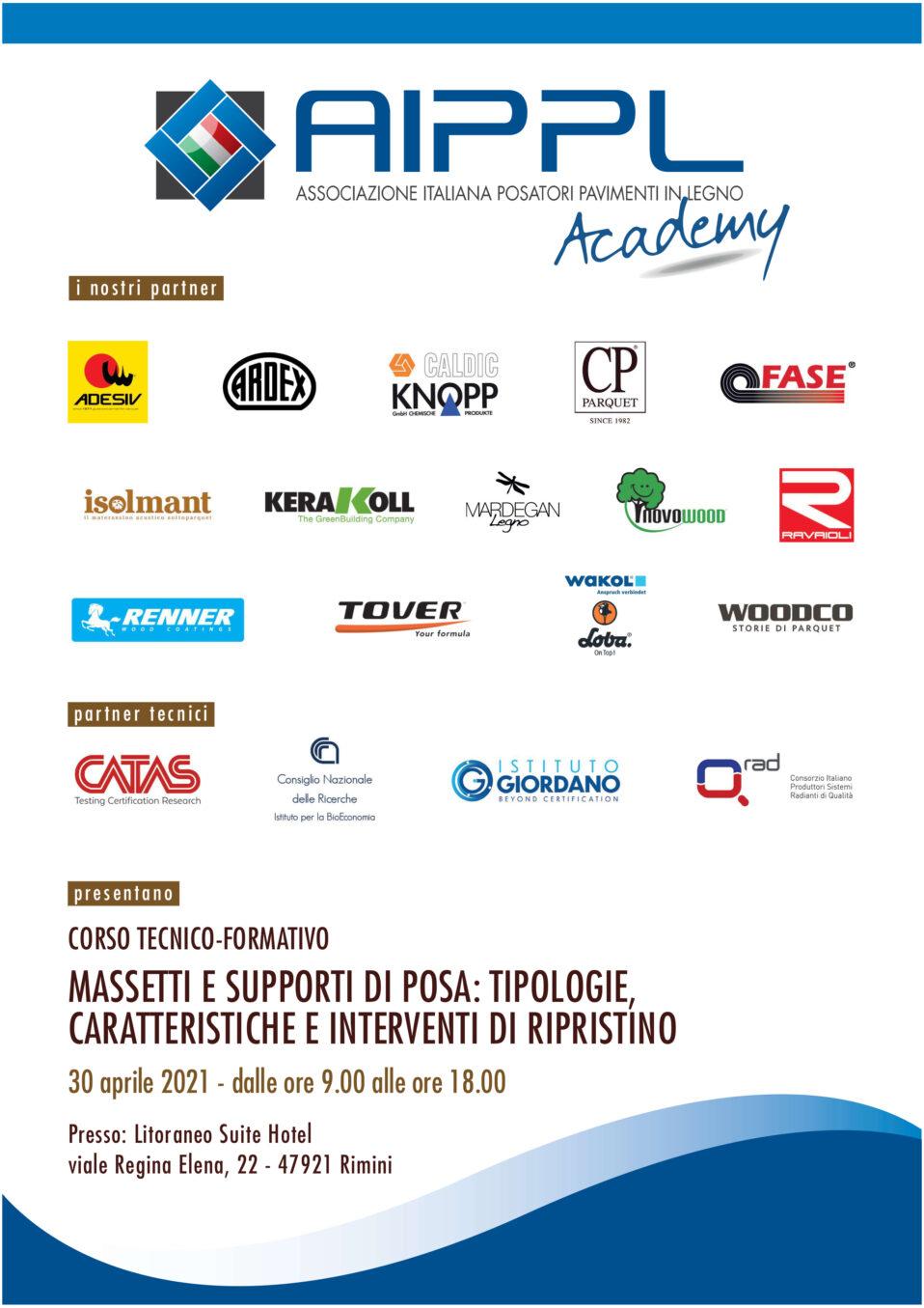 Programma AIPPL Academy 30 aprile 2021